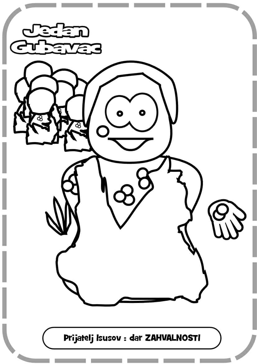 jesus and the blind man coloring page coloring pages
