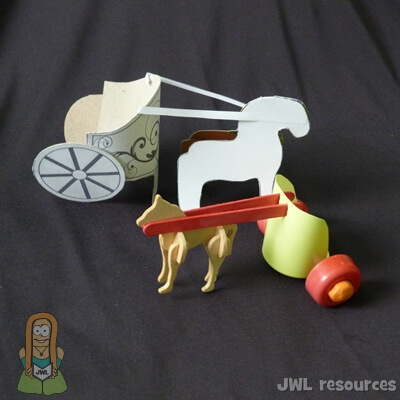 Chariot Craft For Preschoolers