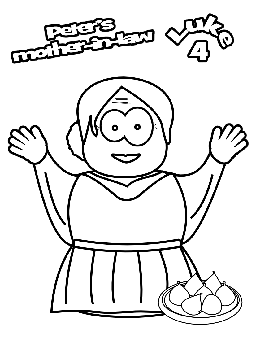 simon peter coloring pages - photo#19