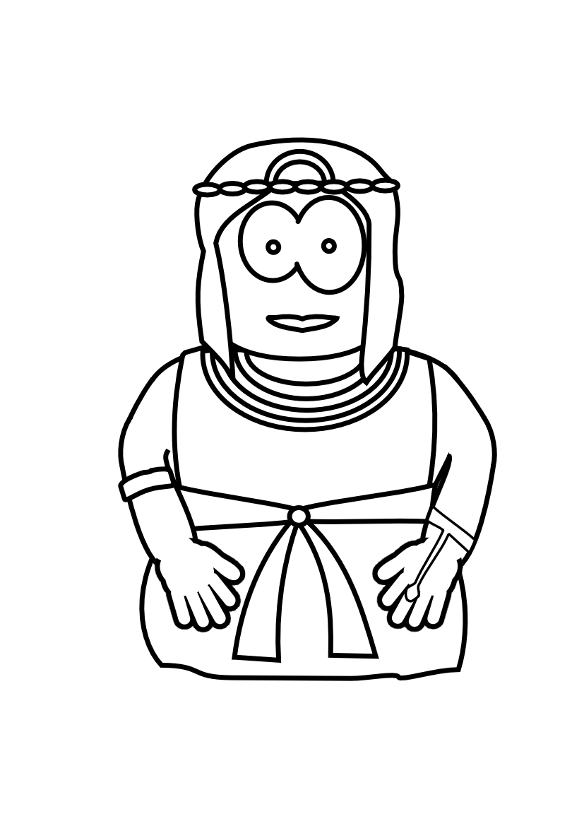 Philip Ethiopian Chariot Coloring In Sheet Coloring Pages